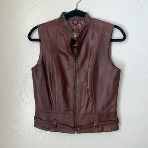 CAbi Leather vest